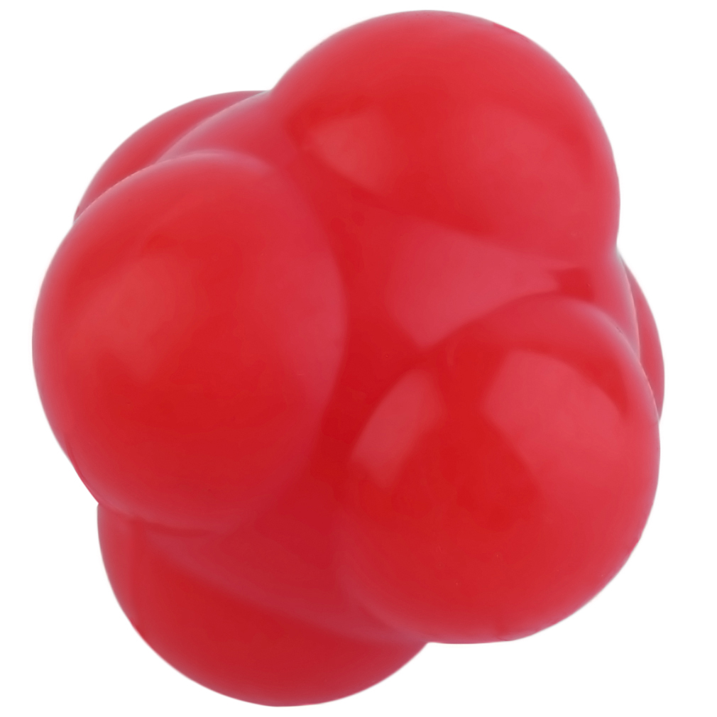 Outdoor Sports Silicone Hexagonal Ball Training Agility Fitness Reaction Ball.