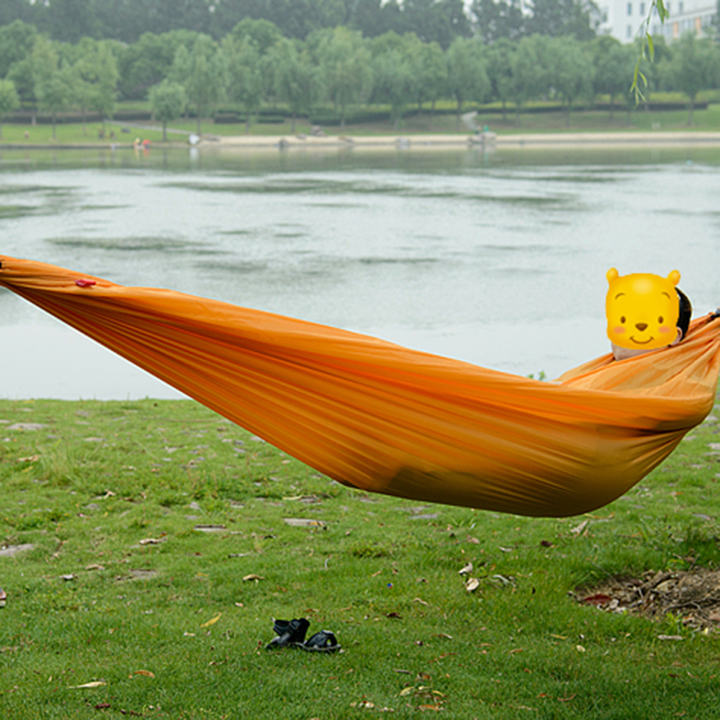 Portable Nylon Hammock Parachute Bed For 1 Person Travel