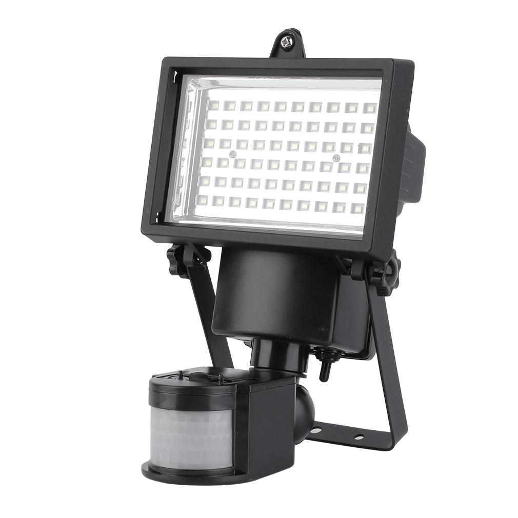 smd led solar powered motion sensor security light flood light lamp ob. Black Bedroom Furniture Sets. Home Design Ideas