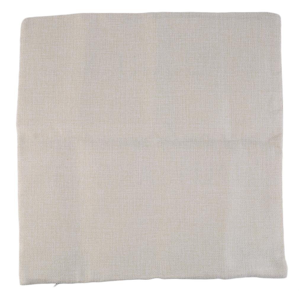 Throw Pillow Covers Cotton : Vintage Cotton Linen Leaning Cushion Throw Pillow Covers Pillowslip Case GT eBay