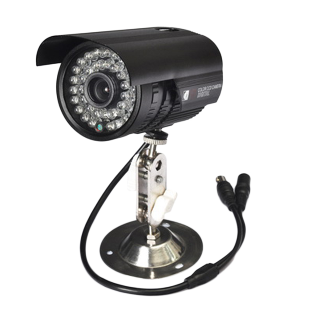 Exterior Home Security Cameras: 1200TVL CCTV Waterproof Outdoor IR Night Vision