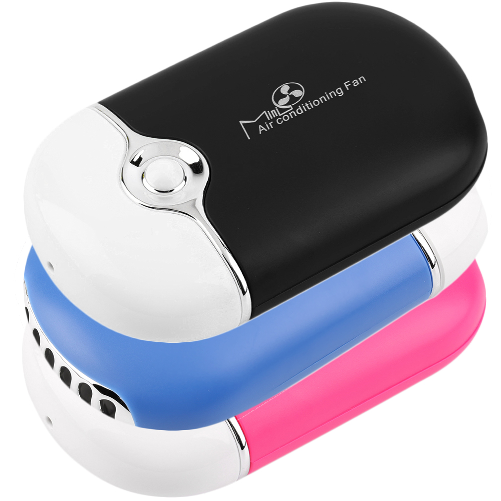 Portable Mini Fan : Rechargeable portable mini handheld air conditioning