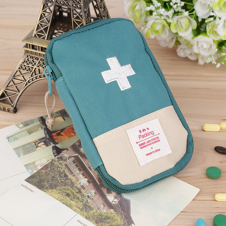 New Outdoor Camping Home Survival Portable First Aid Kit bag Case WS