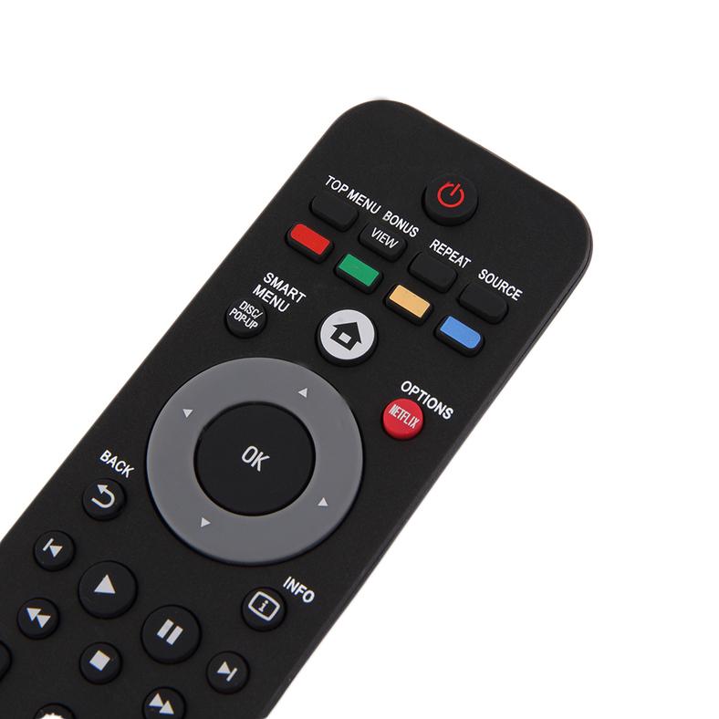 black portable television remote control for philips smart tv ph903 ef ebay. Black Bedroom Furniture Sets. Home Design Ideas