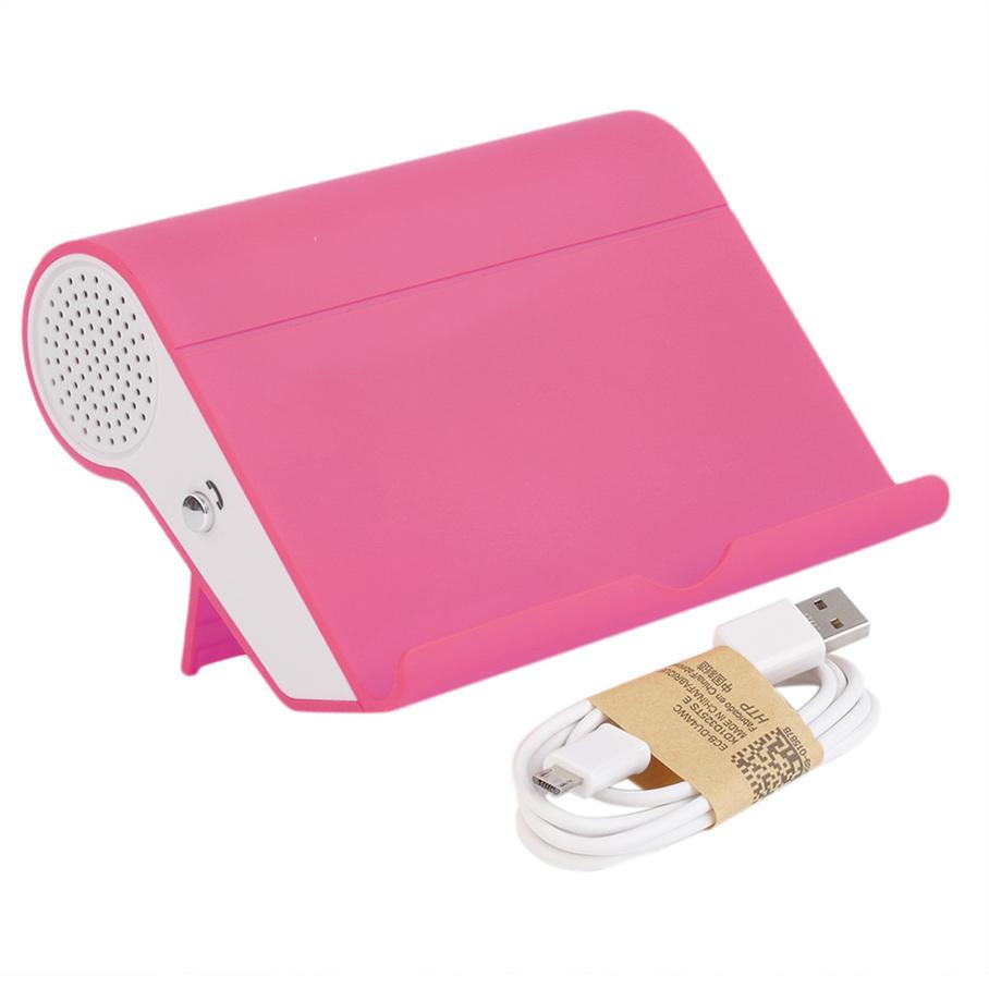mini unique speaker bluetooth digital wireless portable speaker with stand e ebay. Black Bedroom Furniture Sets. Home Design Ideas