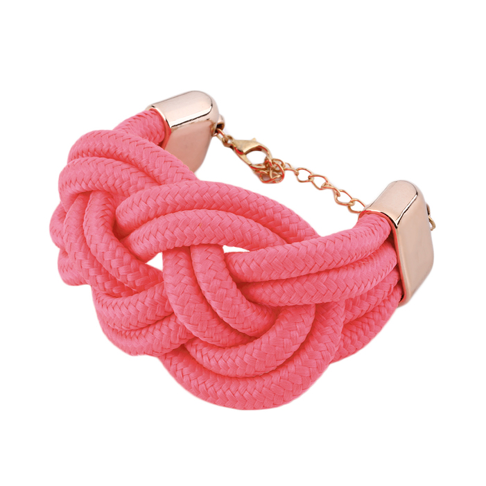 fashion fluorescent rope diy handmade weaving chinese knot charm bracelet zd ebay. Black Bedroom Furniture Sets. Home Design Ideas