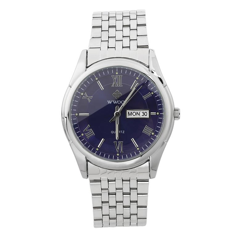 wwoor s stainless steel watches luminous calendar