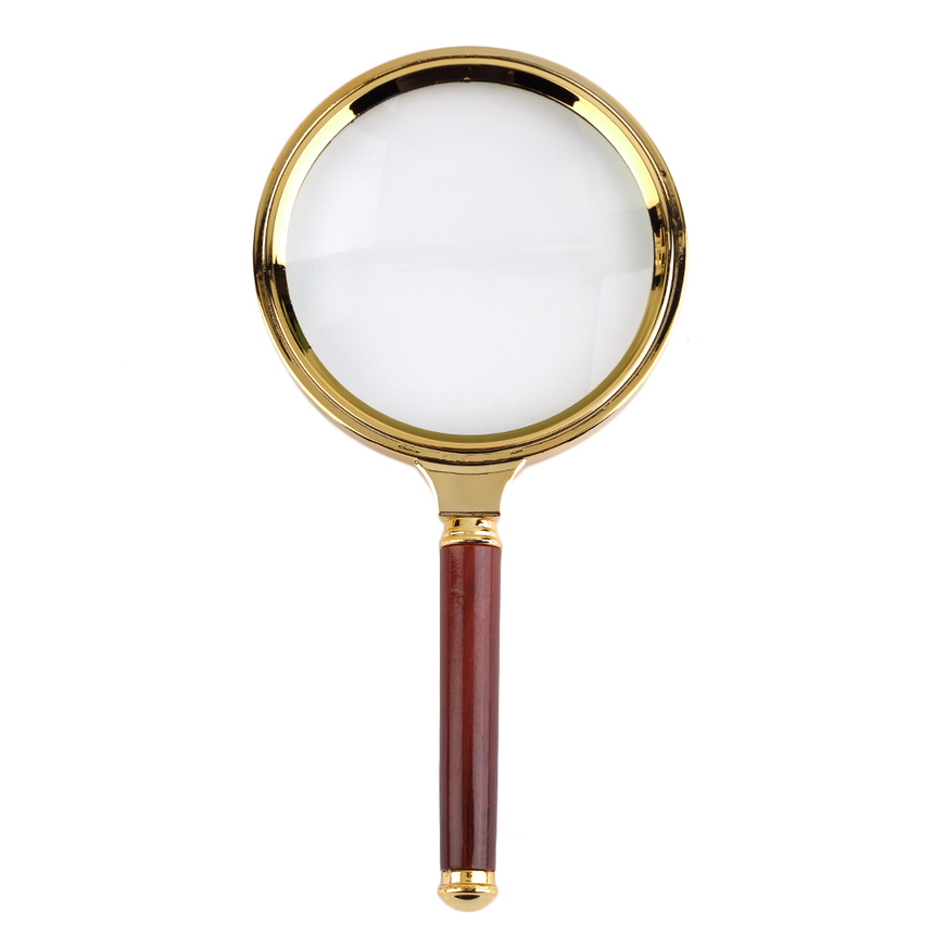 Reading Earrings: Classic 90mm Handheld 10X Magnifier Magnifying Glass Loupe