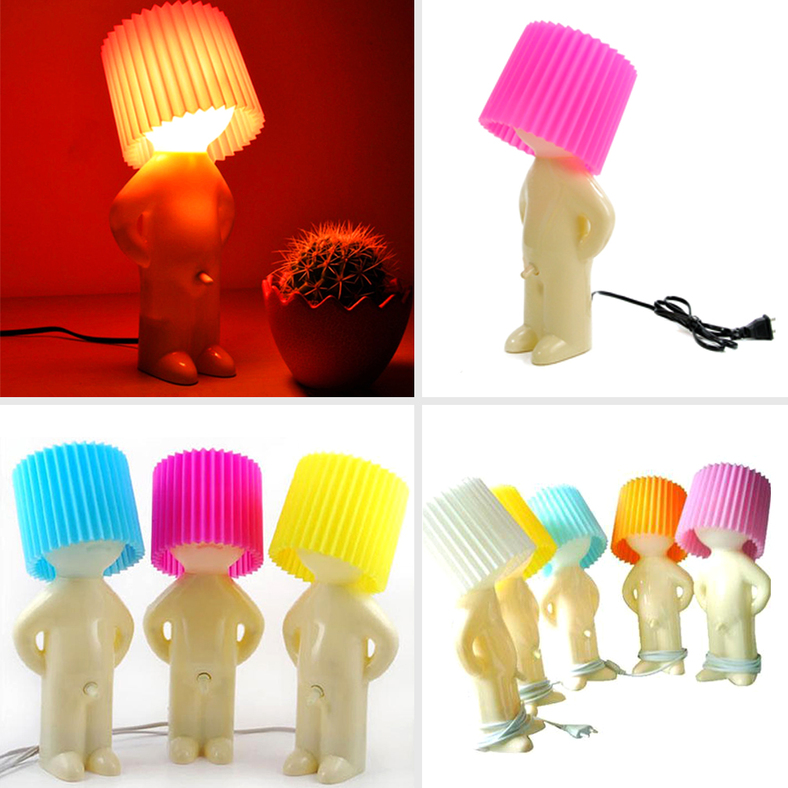 Funny Lamp naughty boy funny desk lamp gift table night light bedroom with