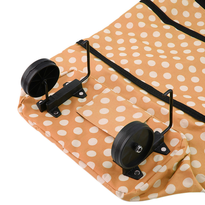 portable folding wheel handle carry shopping bag rolling grocery cart tote ea ebay. Black Bedroom Furniture Sets. Home Design Ideas