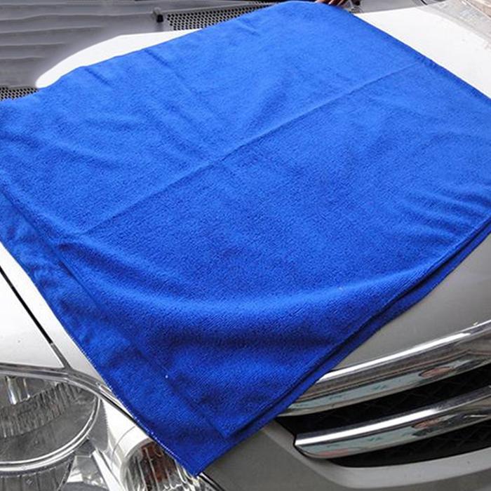 Microfiber Detailing Towels: 1pc 30*30 Microfiber Absorbent Cleaning Car Detailing Soft