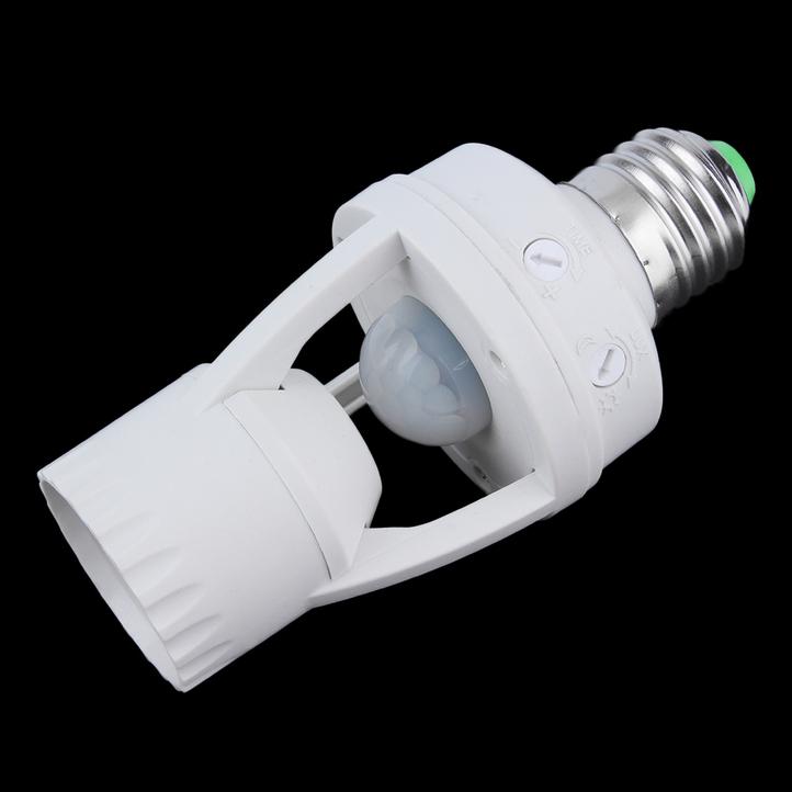 e27 led infrared motion detection light sensor light bulb switch home mc ebay. Black Bedroom Furniture Sets. Home Design Ideas