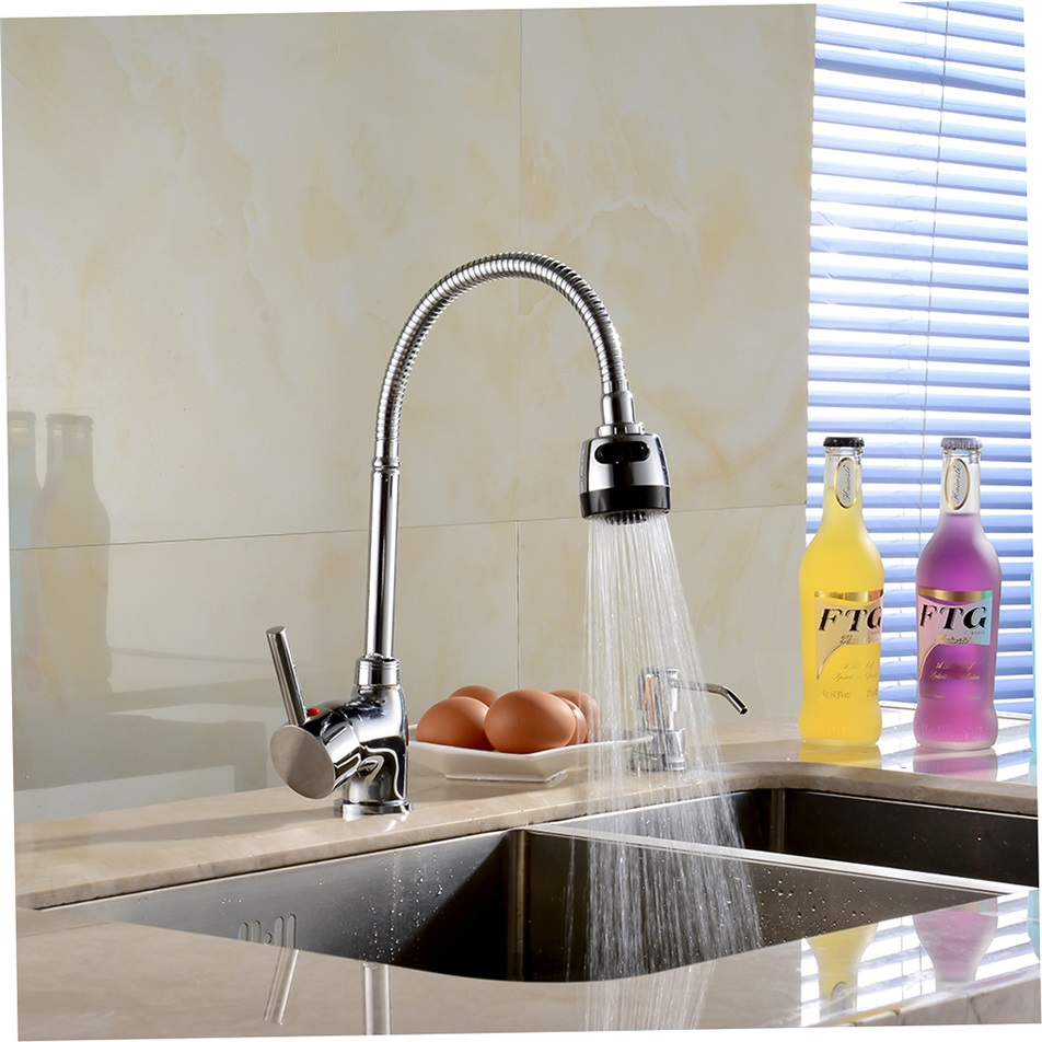 Peerless Stainless Steel Kitchen Faucet With Pulldown