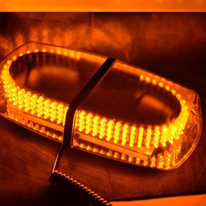 240 led car strobe warning mini bar lights magnetic base. Black Bedroom Furniture Sets. Home Design Ideas