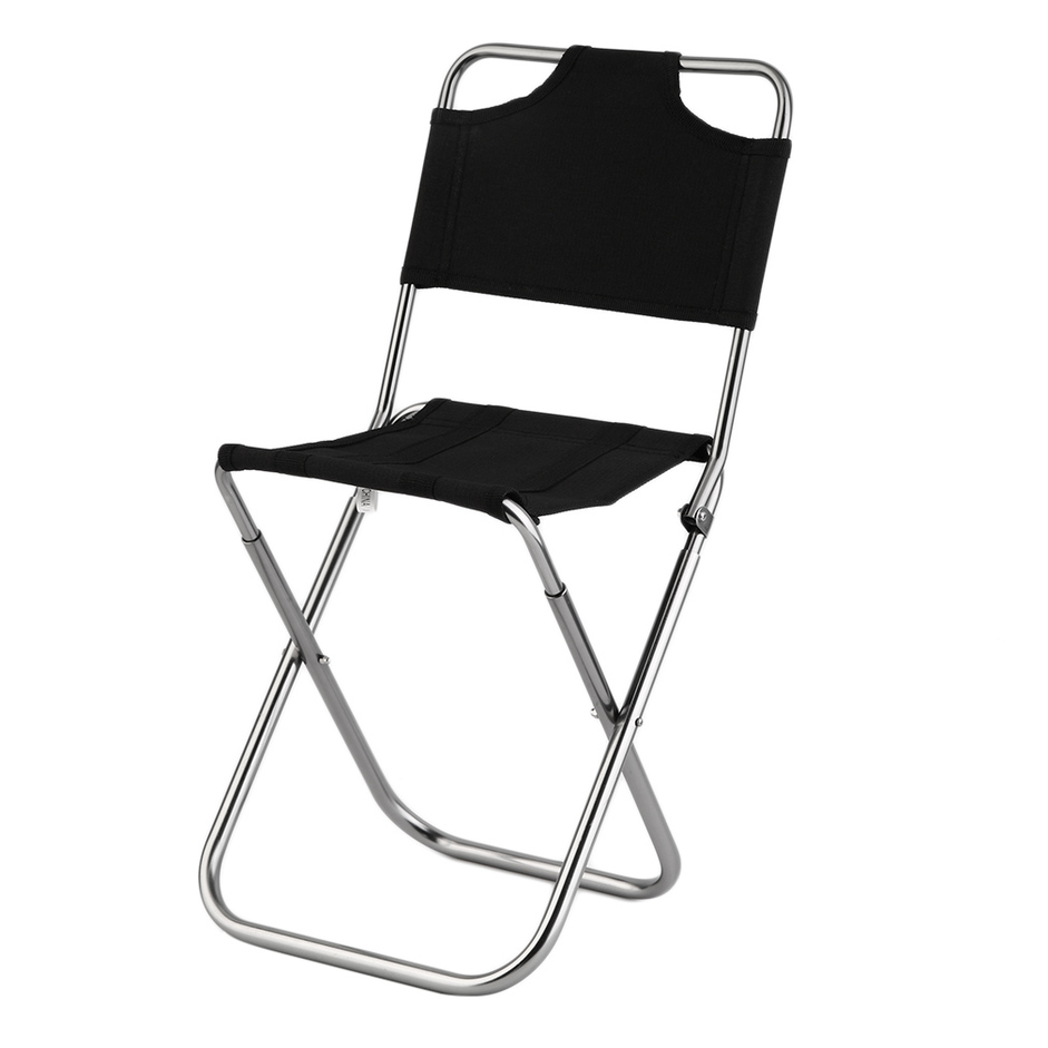 Mini Portable Folding Oxford Aluminum Chair Stool Seat for Camping Fishing F5