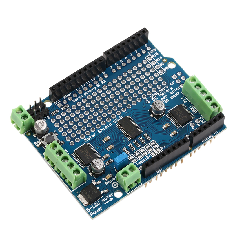 Motor stepper servo robot shield for arduino v with pwm