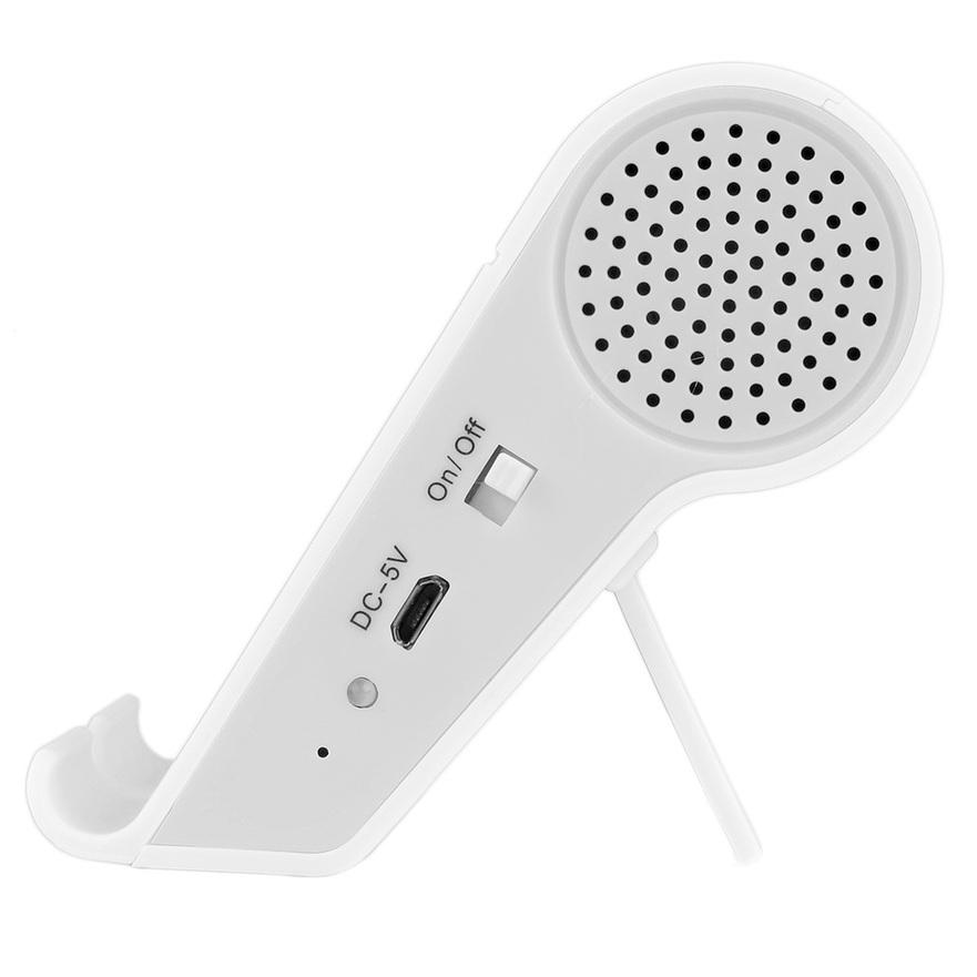 MINI Unique Speaker Bluetooth Digital Wireless Portable Speaker With Stand F5