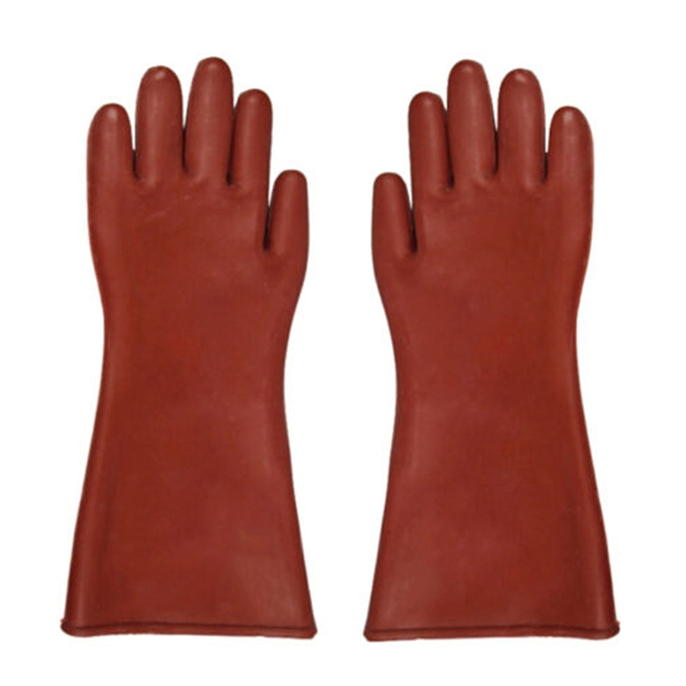Voltage Rated Gloves : Insulated kv high voltage electrical insulating gloves