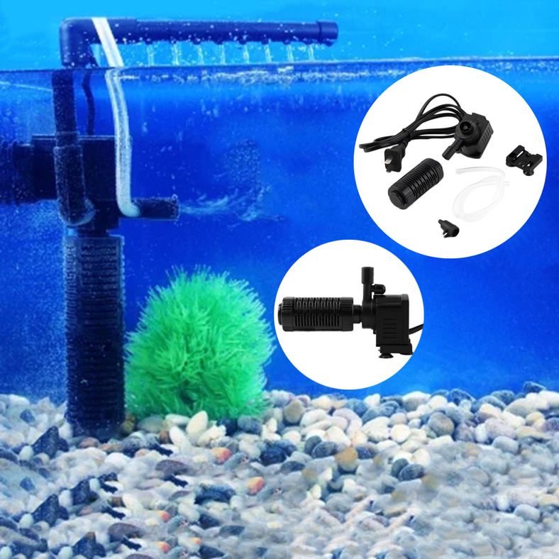 200l h 2w aquarium pond internal filter for fish tank for Underwater pond filter