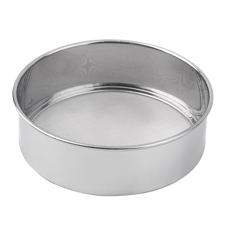 stainless steel mesh flour sifting sifter sieve strainer