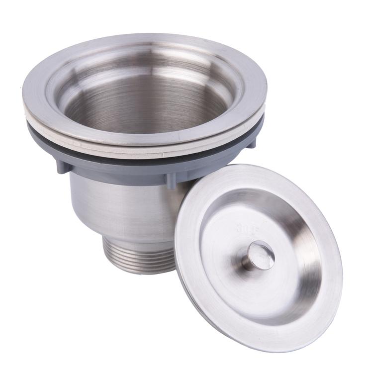 Stainless Steel Kitchen Sink Drain Assembly Waste Strainer