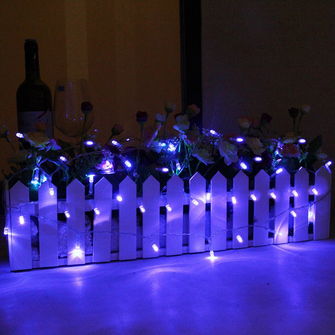 Cotton Ball String Lights Battery : Cotton Ball Fairy Led String Lights Wedding Party Christmas Battery Powered F5 eBay