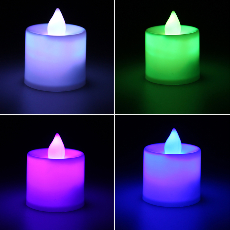 Led Flash Flameless Candle Light Lamp Bithday Dinner Spa Party Pub Room Decor L0 Ebay