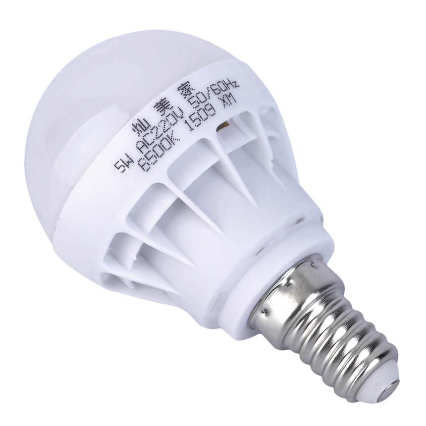 New 3w 5w E14 E27 B22 Led Globe Bulbs Bright White Spot Light Lamp Illumination Ebay