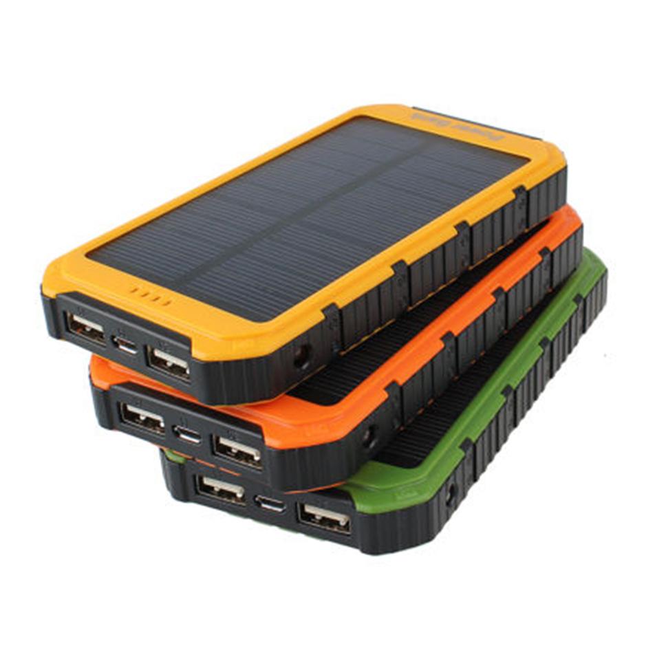 Pannello Energia Solare Portatile : Pannello solare a battery power bank portatile