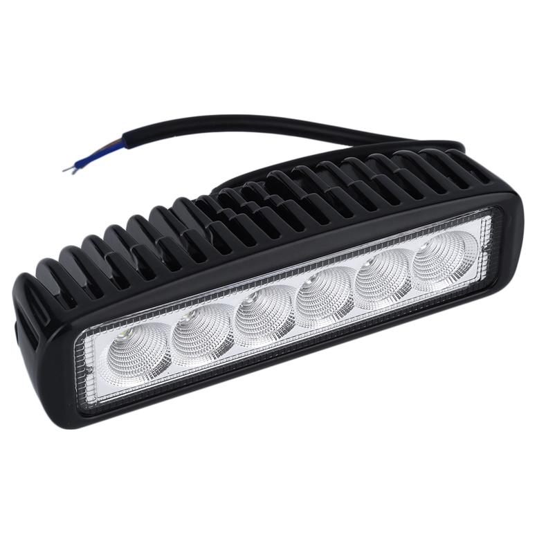 car truck 18w led work light bar reversing flood lamp jeep. Black Bedroom Furniture Sets. Home Design Ideas