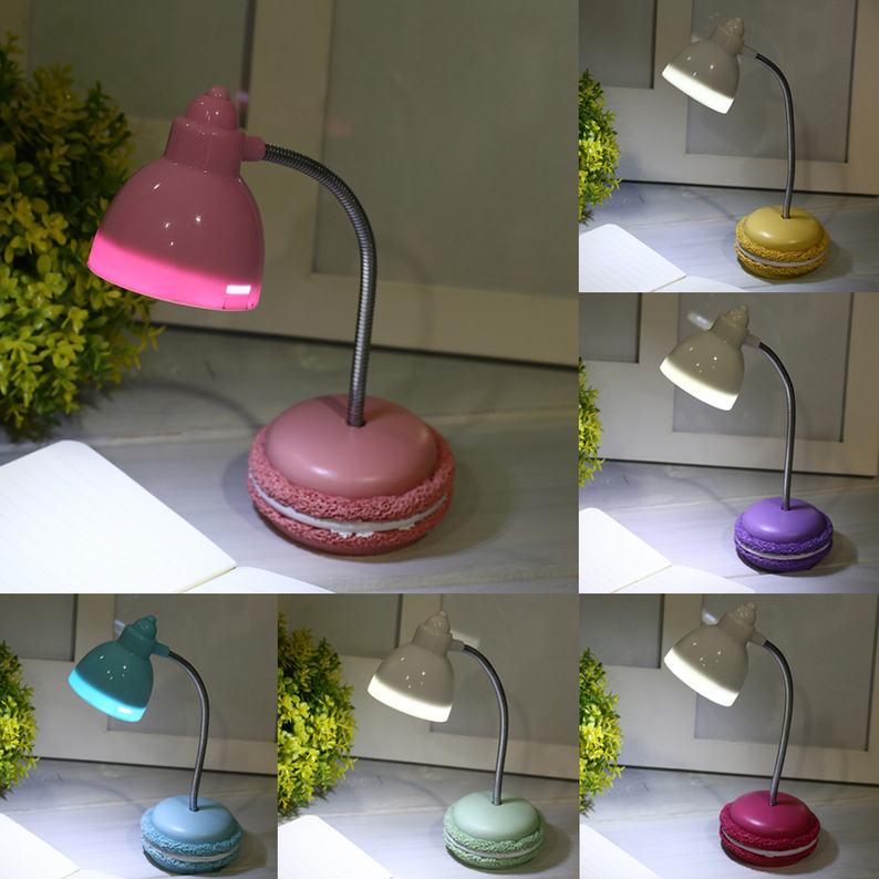 Mini Cute LED Table Lamp Bending Book Light
