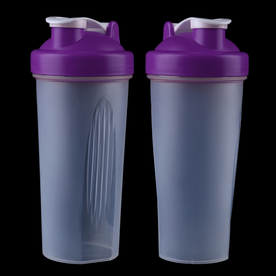 Water Bottle For Office: Office Outdoor Travel Frosted Water Drink Bottle 600ML F7