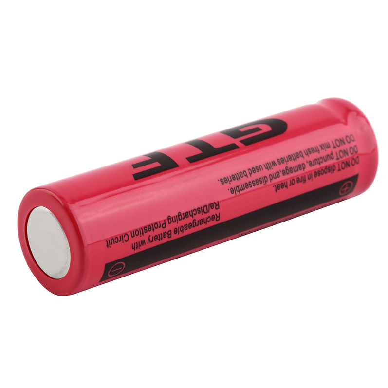 tr 18650 3 7v 9900mah rechargeable li ion battery for led flashlight le ebay
