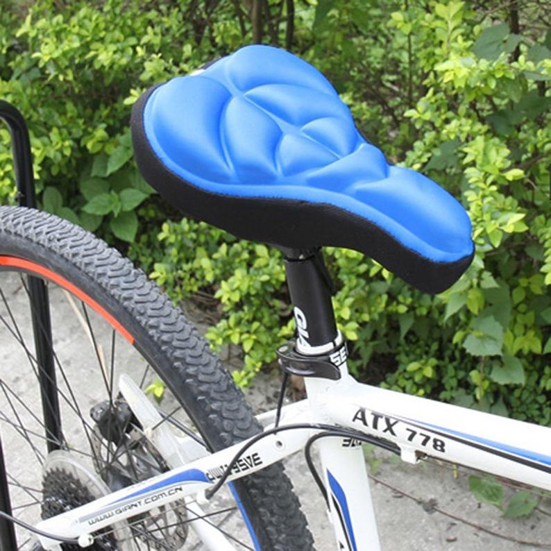 Compra eh funda de asiento de la bicicleta azul online - La bici azul ...