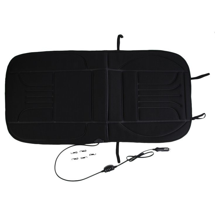 12V Car Front Seat Heated Cushion Hot Cover 12V Heater Winter Warmer Pad ZD