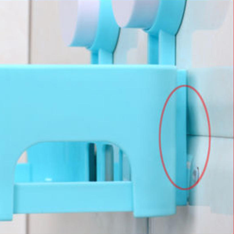 Rack Organizador De Baño:Plástico Organizador de baño estante de la cocina Estante Estante de