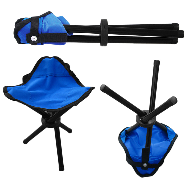 Folding Portable Travel Chair Stool For Outdoor Camping Fishing Hiking GT