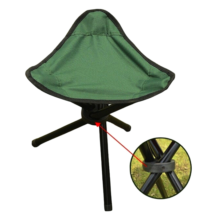 Folding Portable Travel Chair Stool For Outdoor Camping