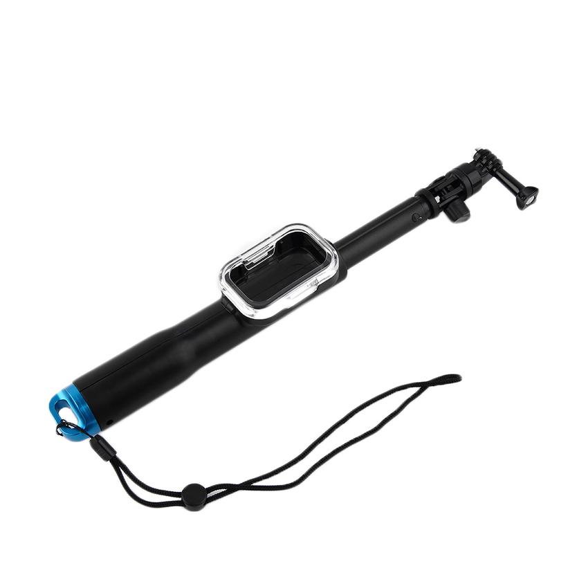 handheld extendable selfie stick remote case for gopro hero 1 2 3 3 4 camera t1 ebay. Black Bedroom Furniture Sets. Home Design Ideas