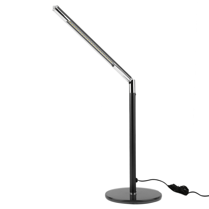 led dimmable flexible table desk lamp 24 led study reading bright. Black Bedroom Furniture Sets. Home Design Ideas