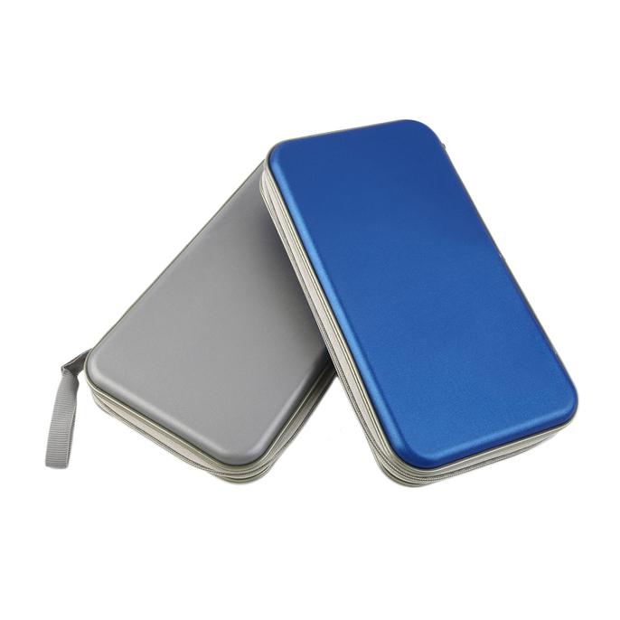 80x Disc CD DVD Portable Storage Case Wallet Hard Box Bag Holder New