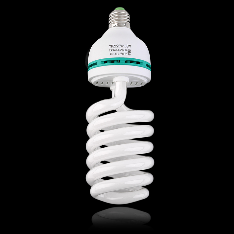 135w E27 5500k Photography Daylight Bulb Continuous Light Lighting Lamp Sy Ebay
