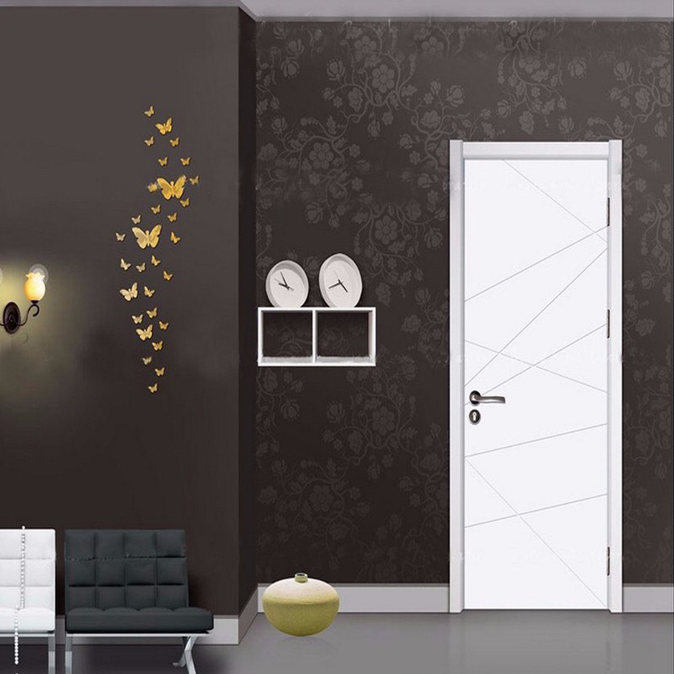 36pcs romantic butterfly mural mirror wall stickers room for Cn mural designs