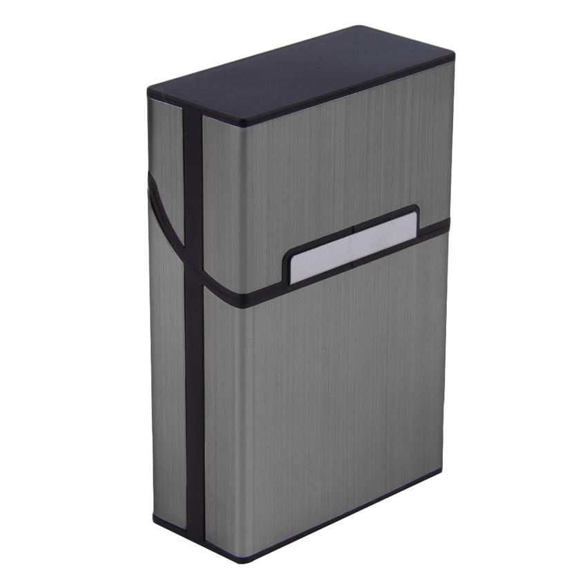 Light Aluminum Cigarette Cigar Case Pocket Box Container
