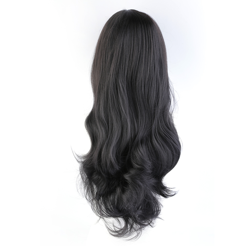 New Fashion Women's Girl Long Curly Hair Full Wavy Wigs Cosplay Party 5Y