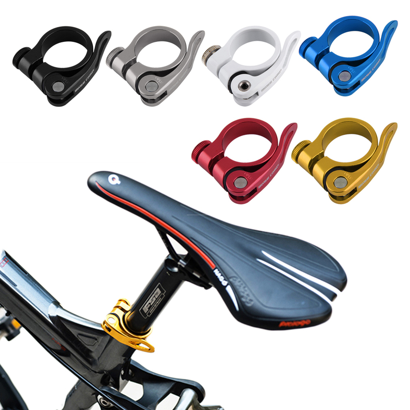 Bicycle Cycling Quick Release QR Seatpost Clamp Sit tube Clip 31.8mm SY