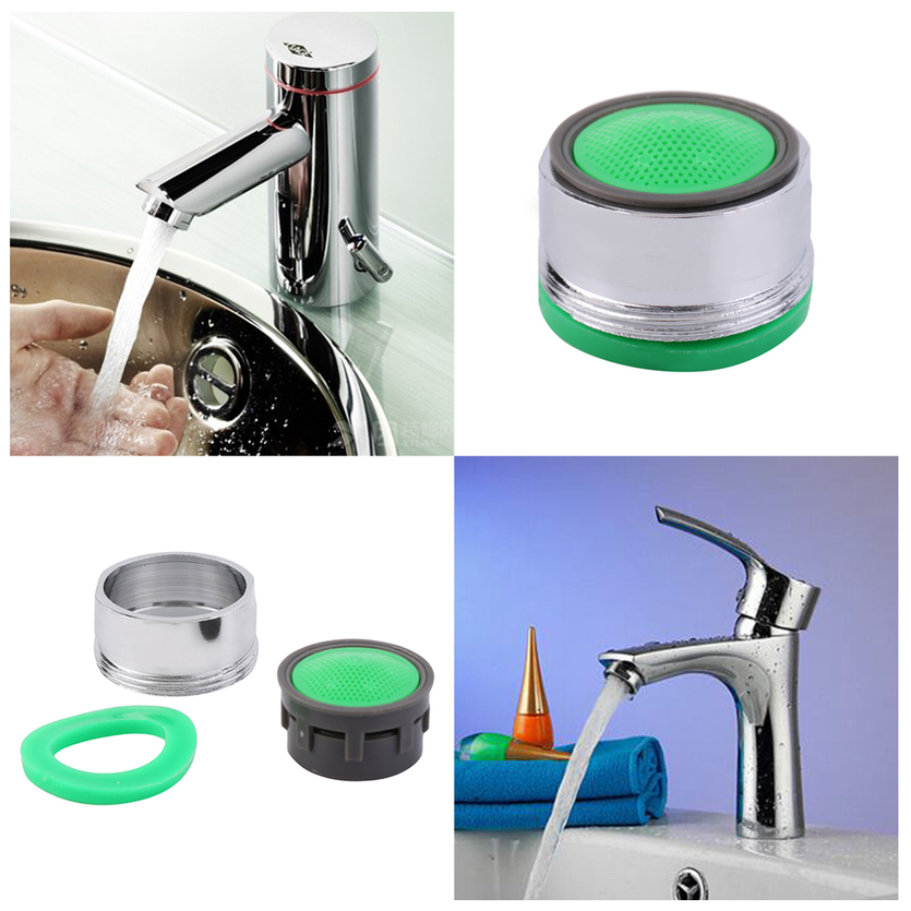 Swivel Aerator For Kitchen Faucet: Faucet Tap Nozzle Thread Swivel Aerator Filter Sprayer