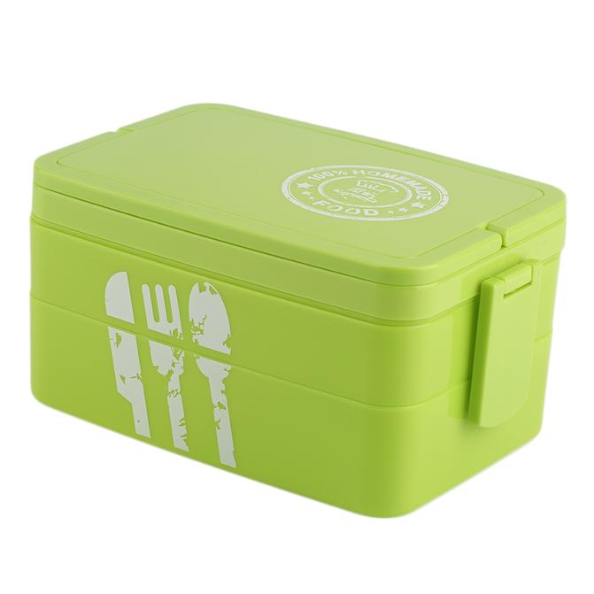 plastic kids picnic bento lunch box lock food container storage bpa free im. Black Bedroom Furniture Sets. Home Design Ideas