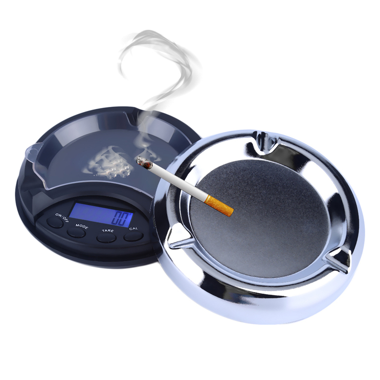 0.01g x 100g Digital Precision Pocket Scale Ash Tray Style Weighing Scales OE