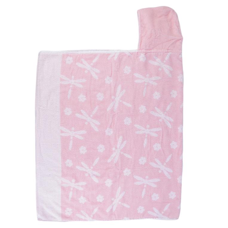 Lovely cotton soft hooded towel bath shower wear children for Bathroom wear